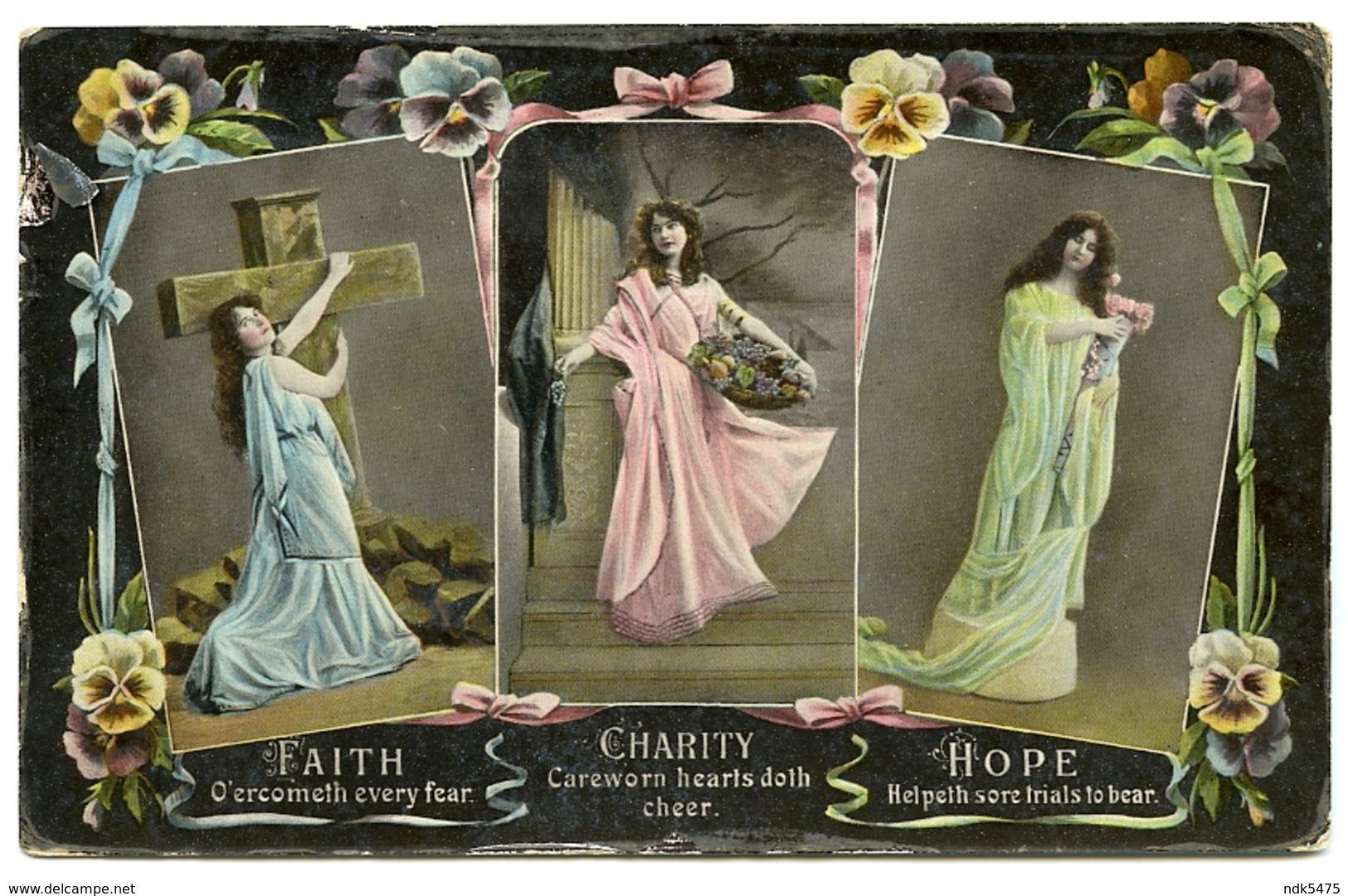 FAITH, CHARITY & HOPE - Christentum
