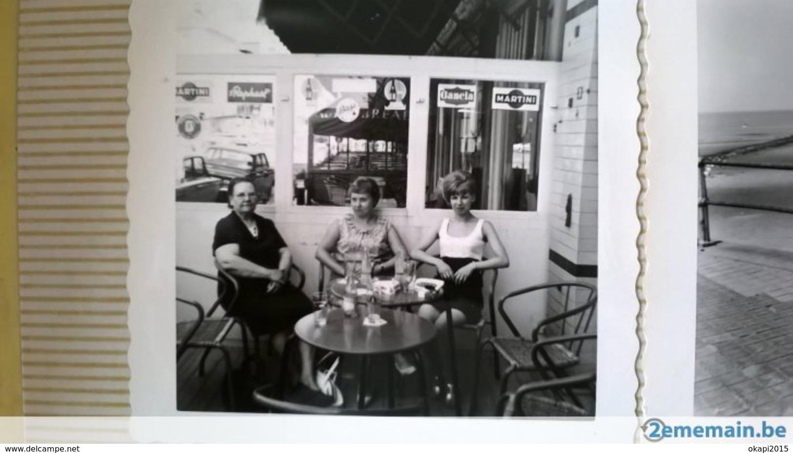 GILLES DE BINCHE MER PLAGE MAILLOTS PERSONNES ITALIE BELGIQUE FRANCE ANNÉES 1950 à 1970  LOT 120 PHOTOS ORIGINALES - Albums & Collections