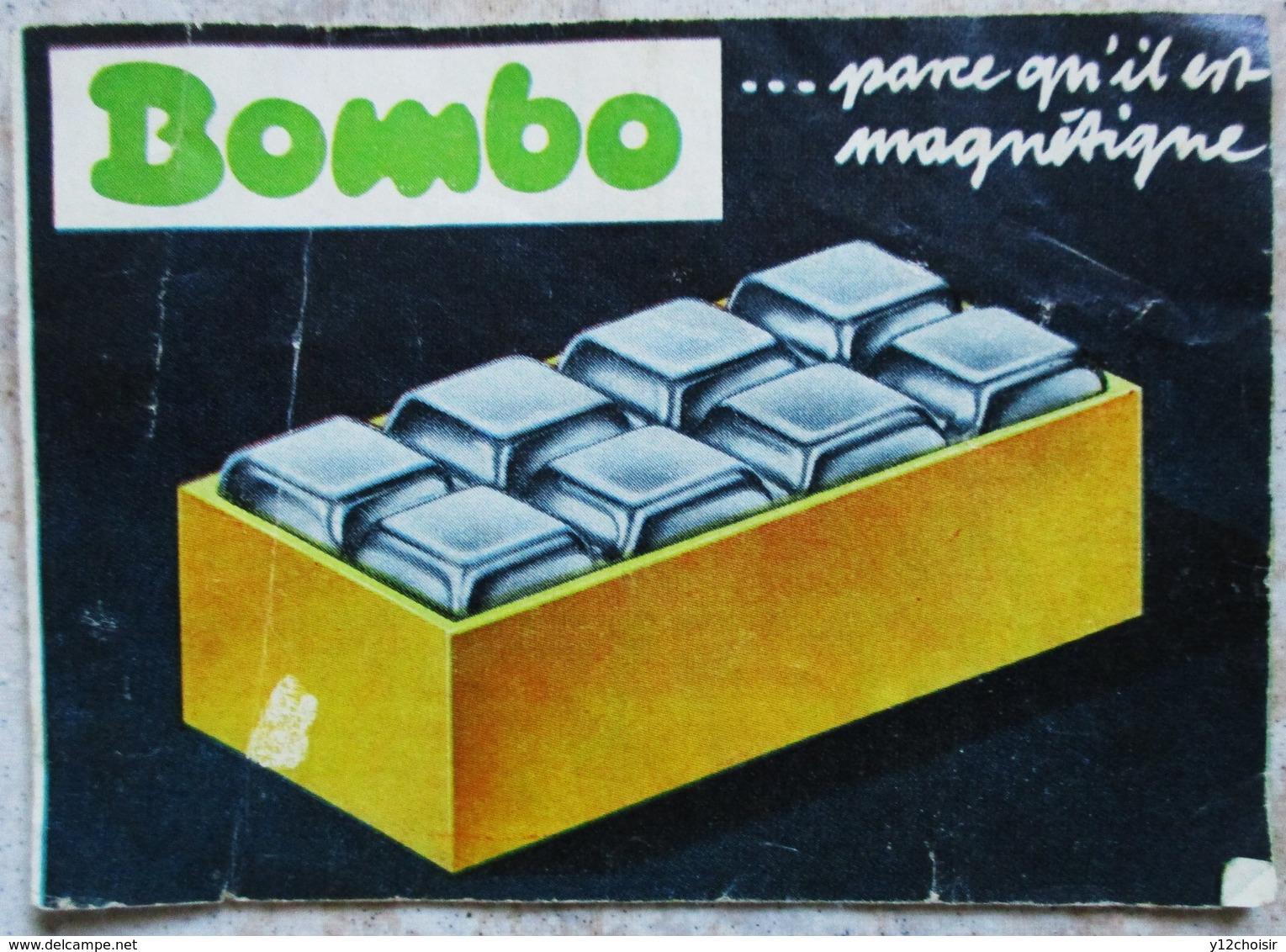 DEUX NOTICES JEUX DE CONSTRUCTION ANCIENS BOMBO PIERRES MAGNETIQUES - Other