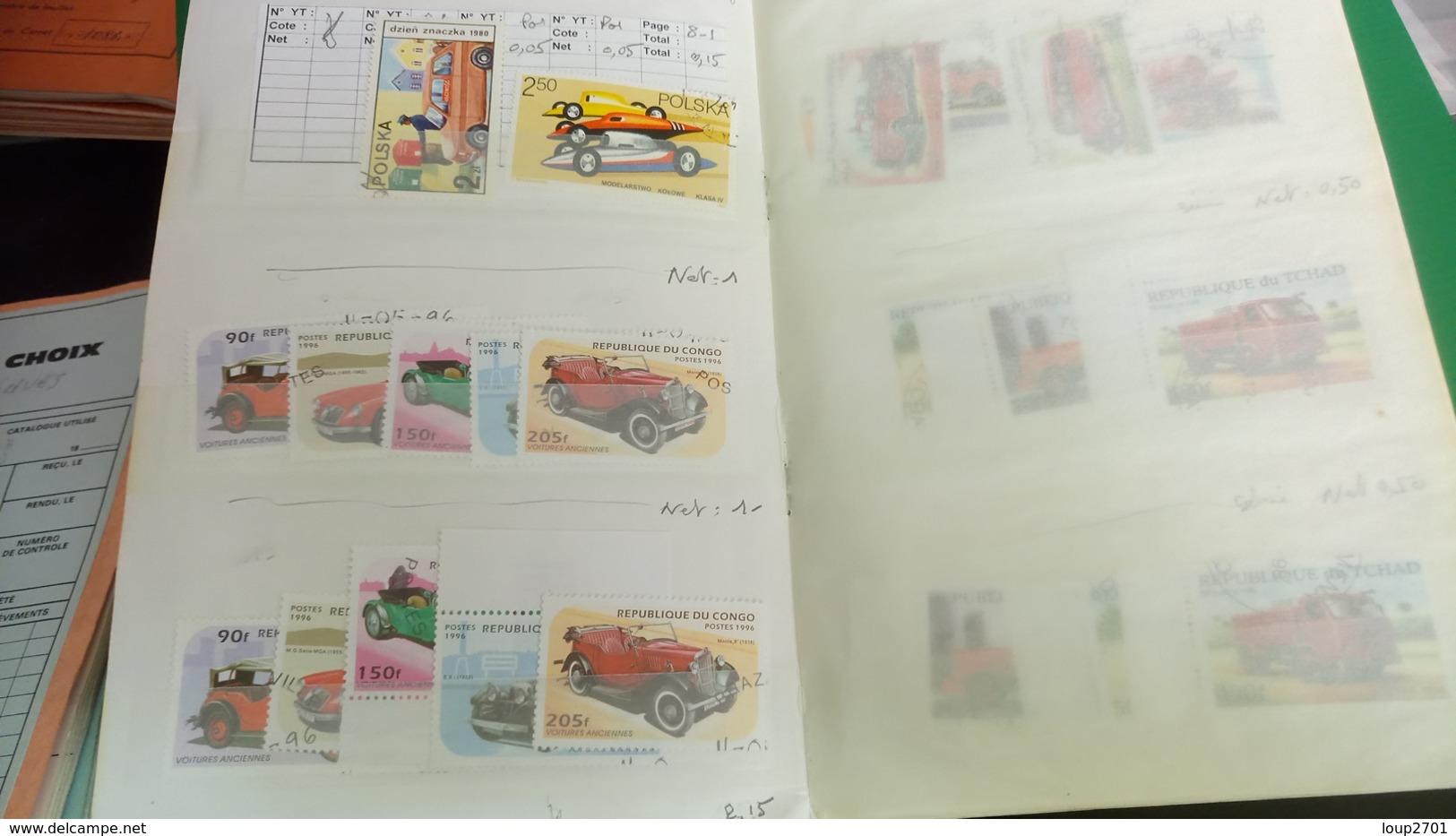 D429 RESTE CARNET A CHOIX THÉMATIQUE TRANSPORT A TRIER BELLE COTE DÉPART 3€ - Sammlungen (im Alben)