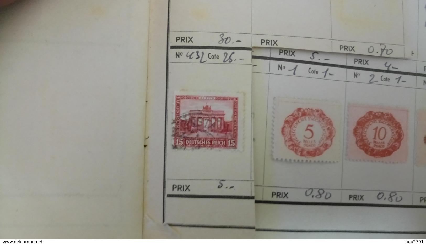 D435 LOT RESTE CARNET A CHOIX DIVERS A TRIER BELLE COTE DÉPART 3€ - Sammlungen (im Alben)