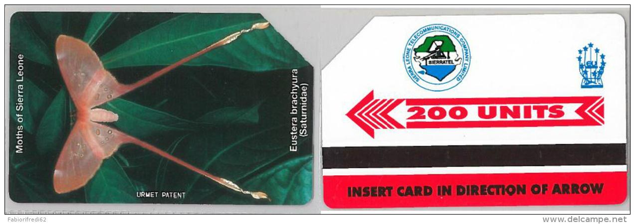 PHONE CARD  SIERRA LEONE-URMET (E16.21.1 - Sierra Leone
