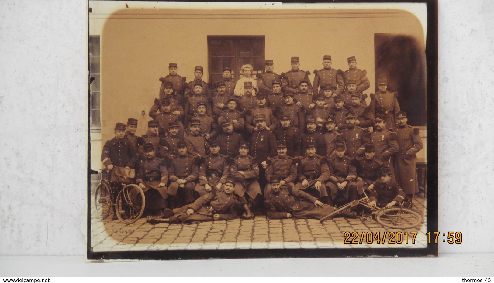 PHOTO 5ème REGIMENT DU GENIE / Déc. 1905 / VERSAILLES - Guerre, Militaire