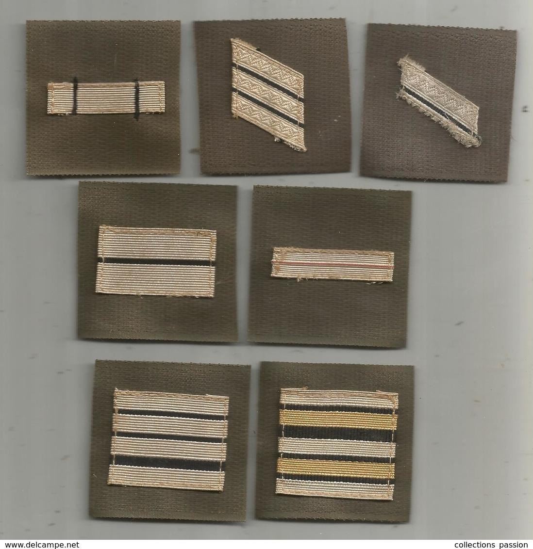 Cp , Grade De Poitrine , Scratch , LOTDE 7 GRADES DE POITRINE - Ecussons Tissu