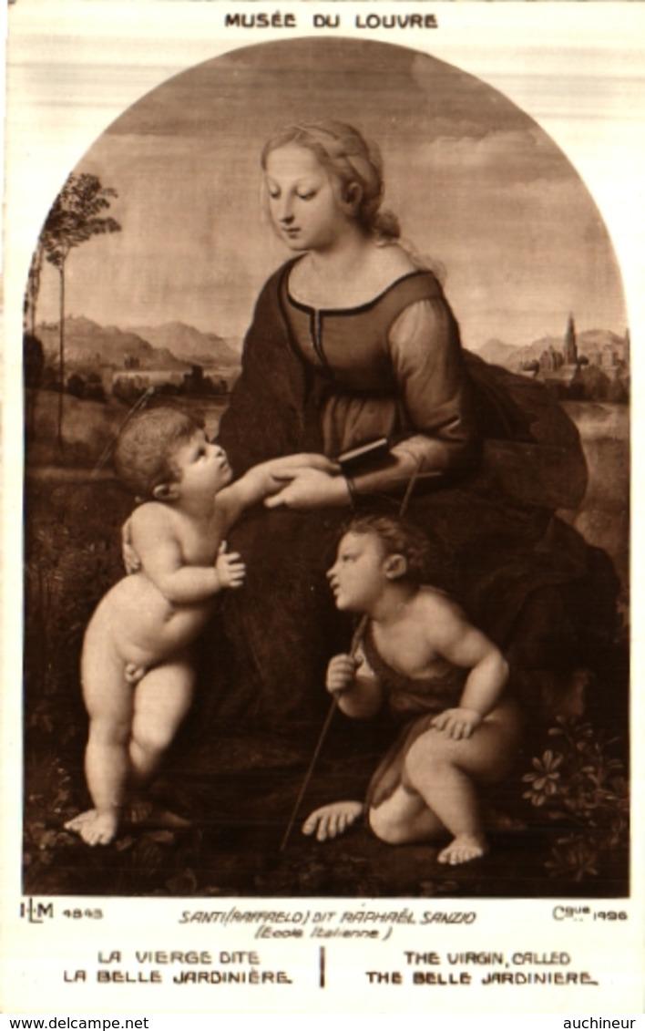 Lapina ILM 4843 - Santi, La Vierge Dite La Belle Jardinière - Peintures & Tableaux
