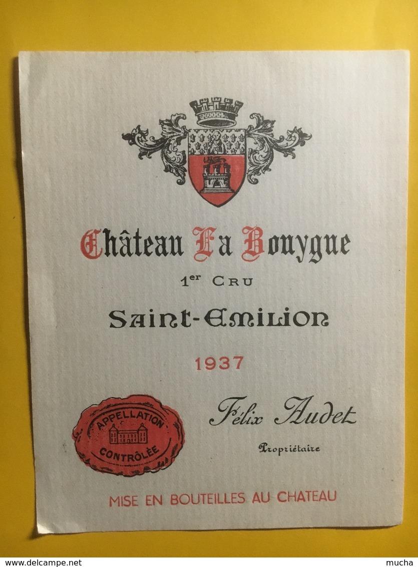 8129 - Château La Bouygue 1937 Saint-Emilion - Bordeaux