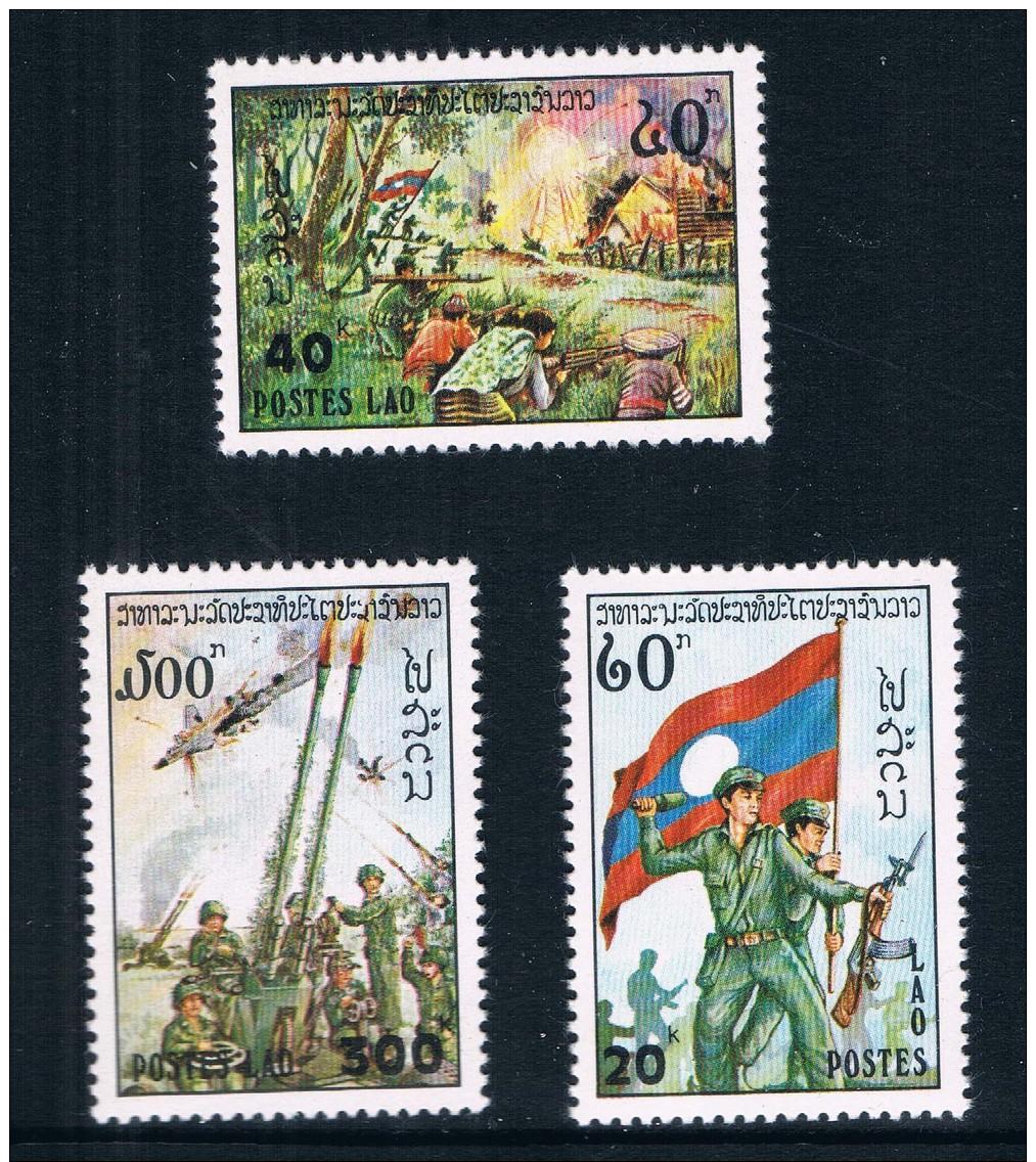 LA0739 Laos 1978 Army Day National Flag 31016 - History