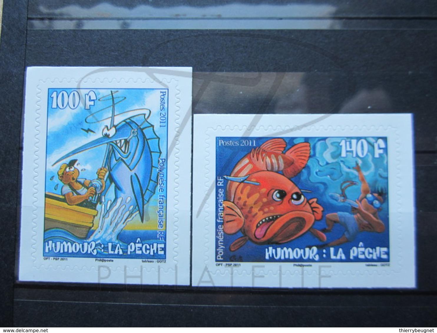 VEND BEAUX TIMBRES DE POLYNESIE N° 951 + 952 , XX !!! - Neufs