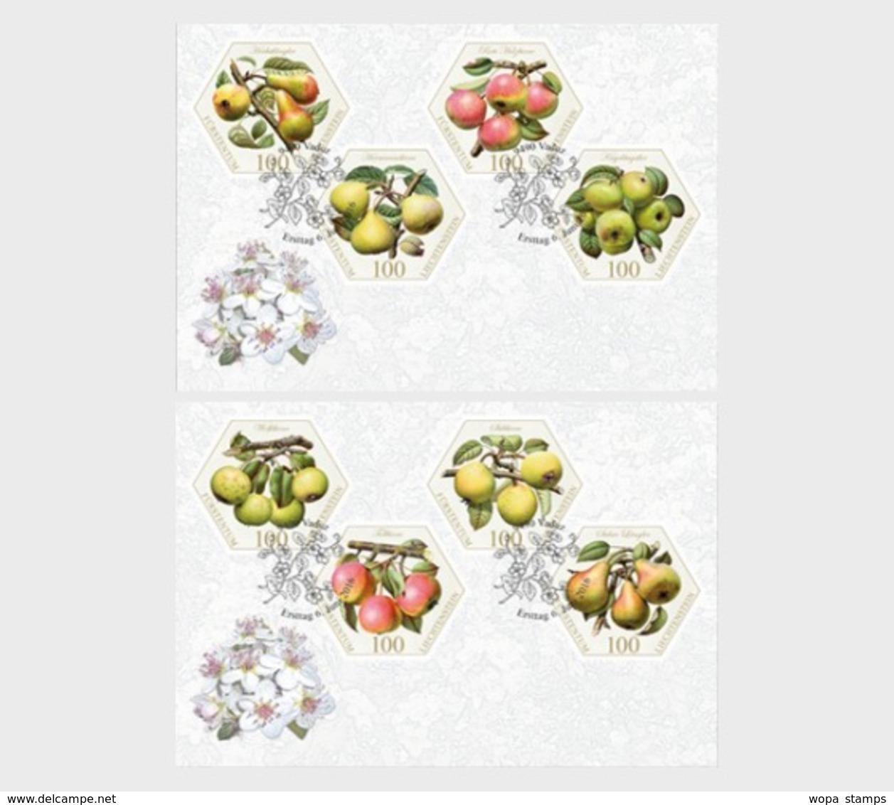 Liechtenstein 2016 First Day Cover - Old Fruit Varieties - Pears - Liechtenstein