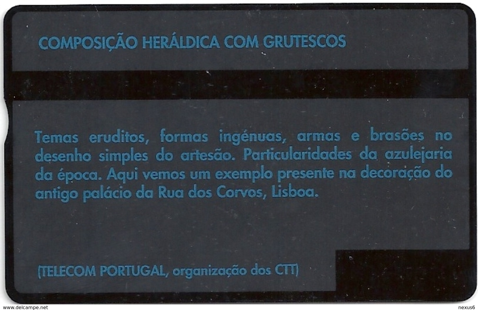 Portugal - TP - Europalia 91 - Azulejaria - L&G - 10.1991, 50Units, 130D - 50.000ex, Used - Portugal