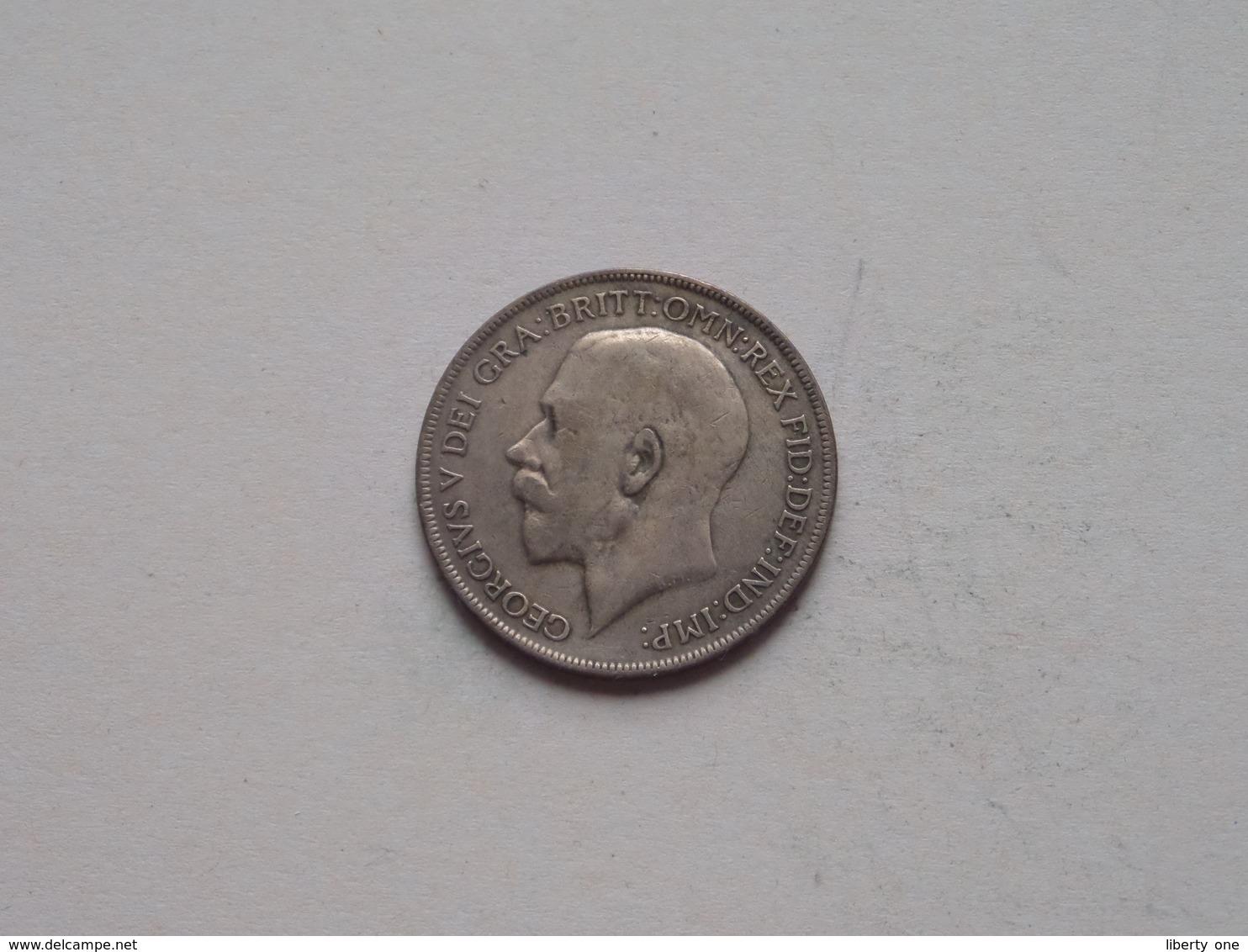 1922 - 1 Penny / KM 810 ( For Grade, Please See Photo ) ! - 1902-1971: Postviktorianische Münzen