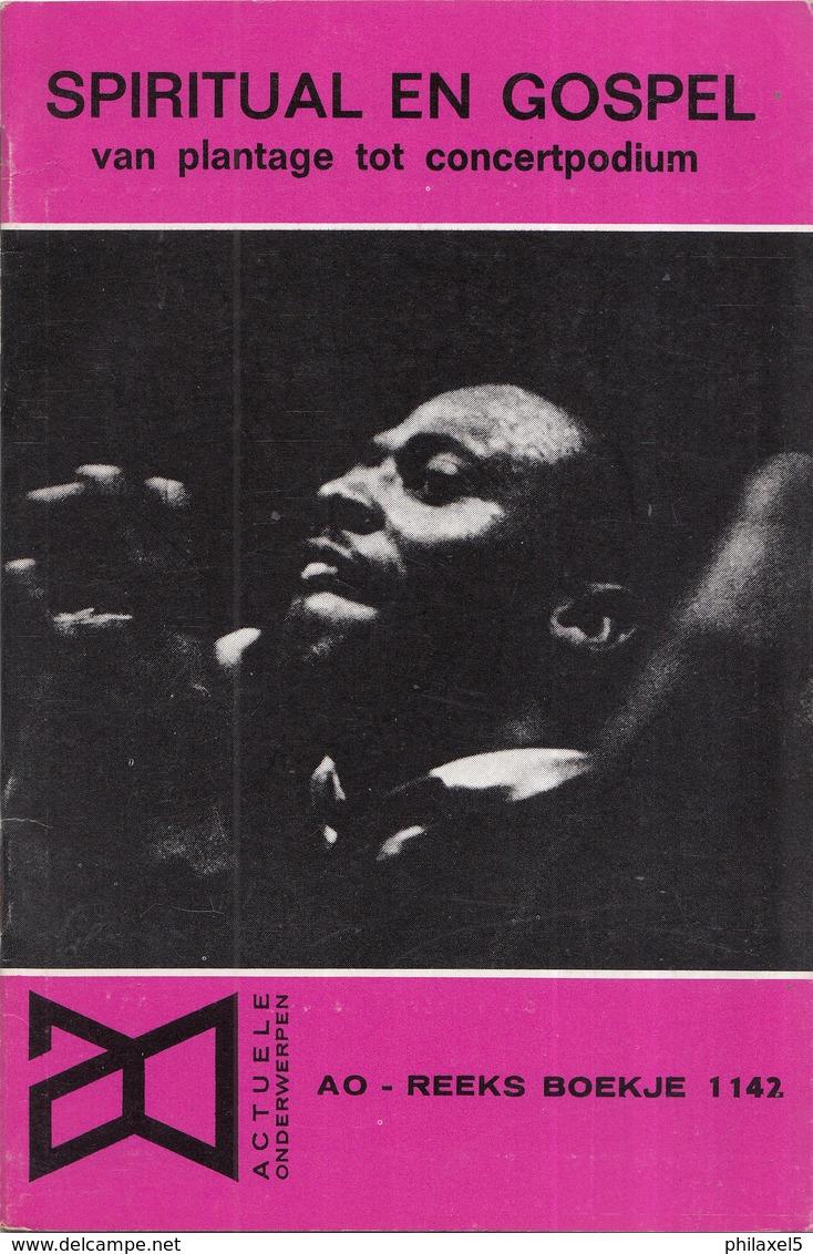 AO-reeks Boekje 1142 - Constant Wallagh: Spiritual En Gospel Vanplantage Tot Concertpodium - 23-12-1966 - Geschiedenis