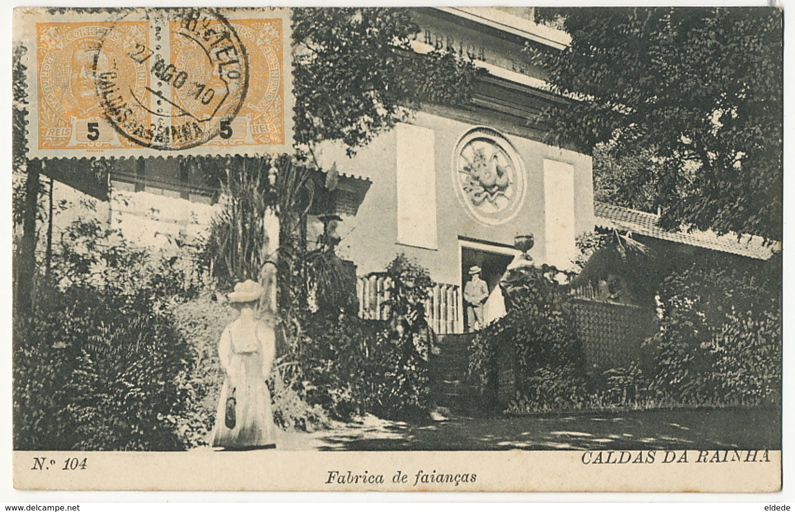 Caldas Da Rainha No 104 Fabrica De Faianças  Edicion Alberto Malva - Portugal