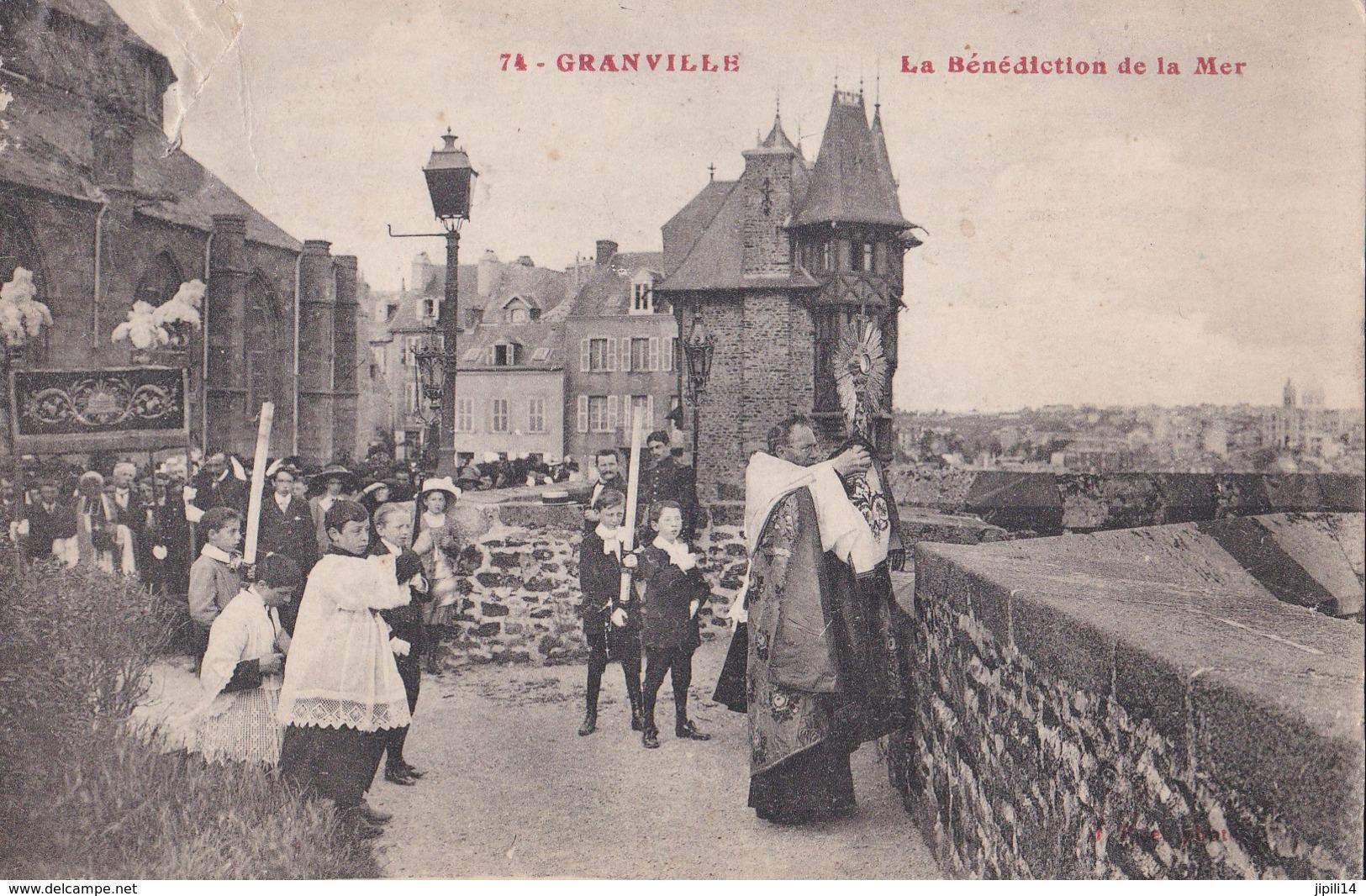 GRANVILLE LA BENEDICTION DE LA MER  BELLE ANIMATION ACHAT IMMEDIAT - Granville