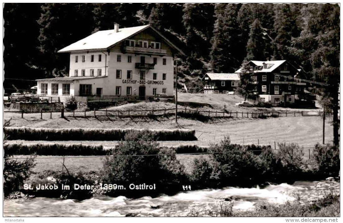 St. Jakob Im Defereggen, Osttirol - Gasthof Bad Grünmoos (717) - Defereggental
