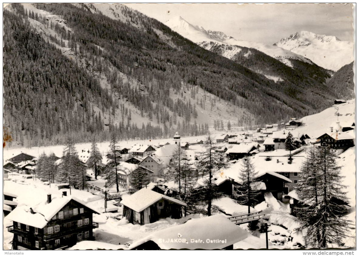 St. Jakob Im Defereggen, Osttirol - Im Winter - Defereggental