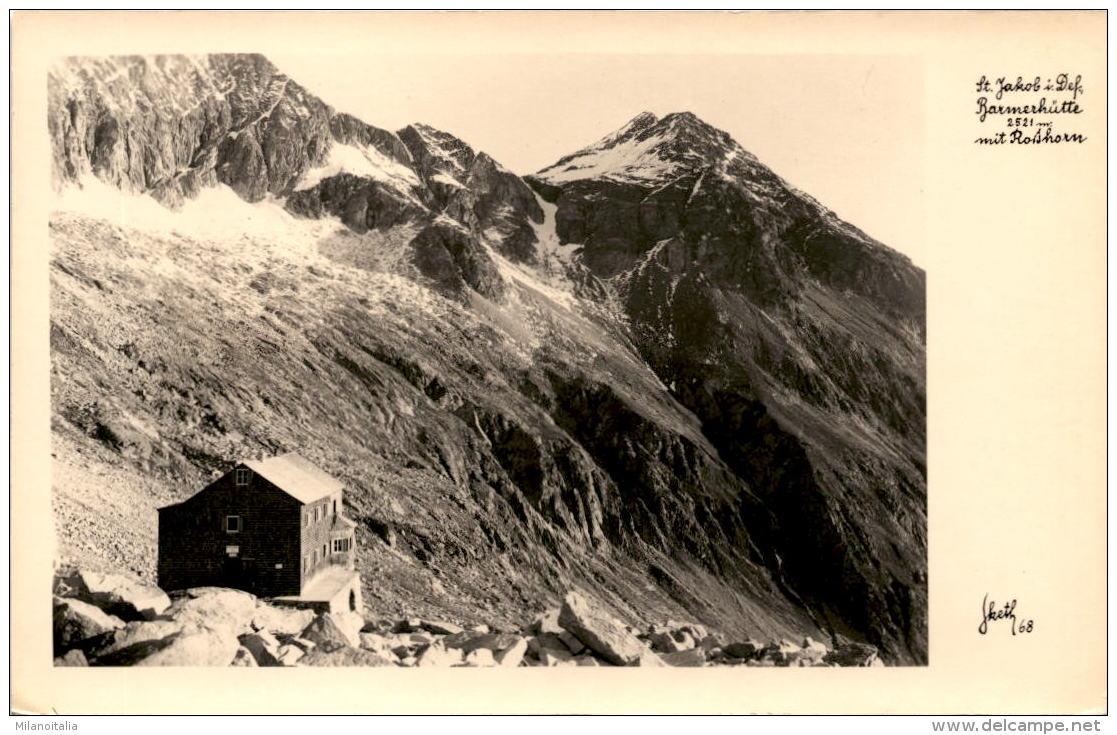 St. Jakob I. Defereggen - Barmerhütte Mit Rothorn (68) * 21. 8. 1950 - Defereggental