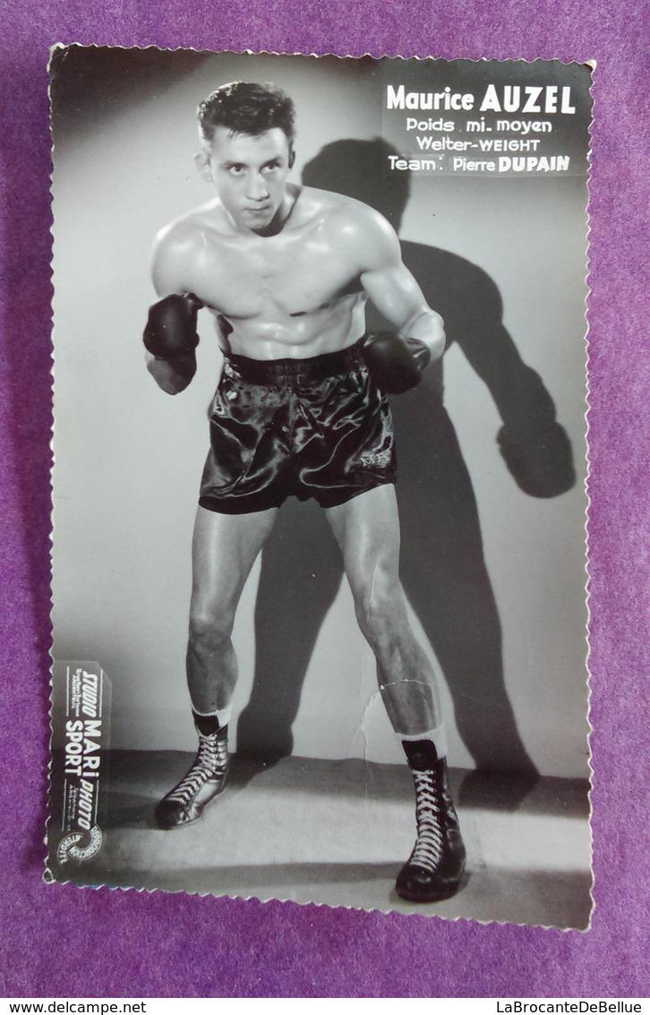 PHOTO AUZEL Maurice, Poids Mi-moyen, Professeur : Pierre Dupain - Boxe