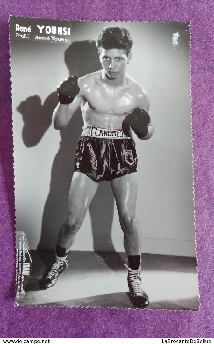 PHOTO YOUNSI René, Professeur : André Younsi - Boxing