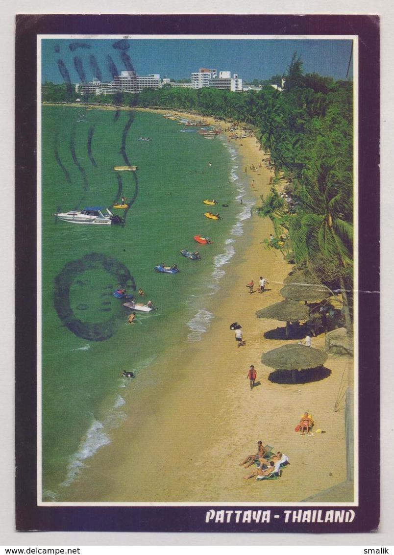 THAILAND Picture POST CARD POSTCARD - PATTAYA, Postal Used - Tailandia