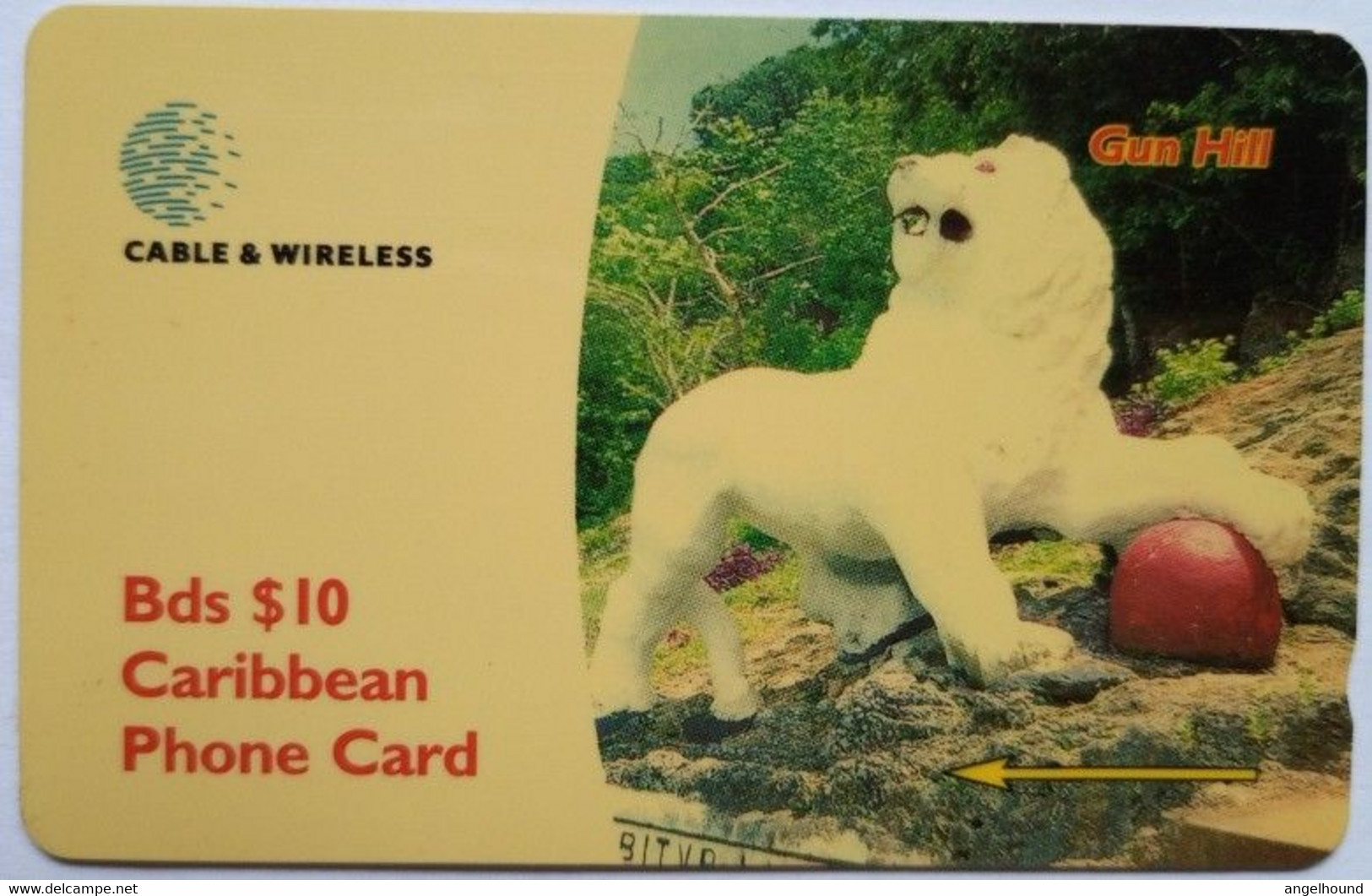 263CBDF Gun Hill B$10 - Barbades