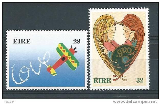 Irlande 1994 N°846/847 Neufs ** Messages D'Amour - 1949-... Repubblica D'Irlanda