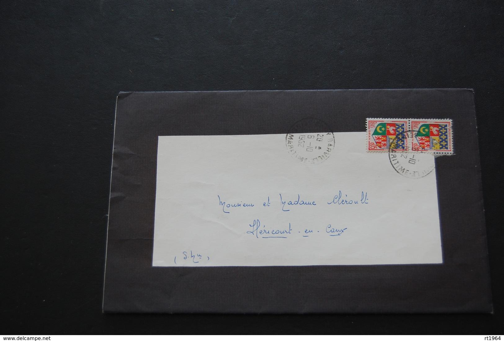 76 - Faire Part De Décès De Mme Maria LECONTE Le 05 Octobre 1962 Vittefleur - Obituary Notices