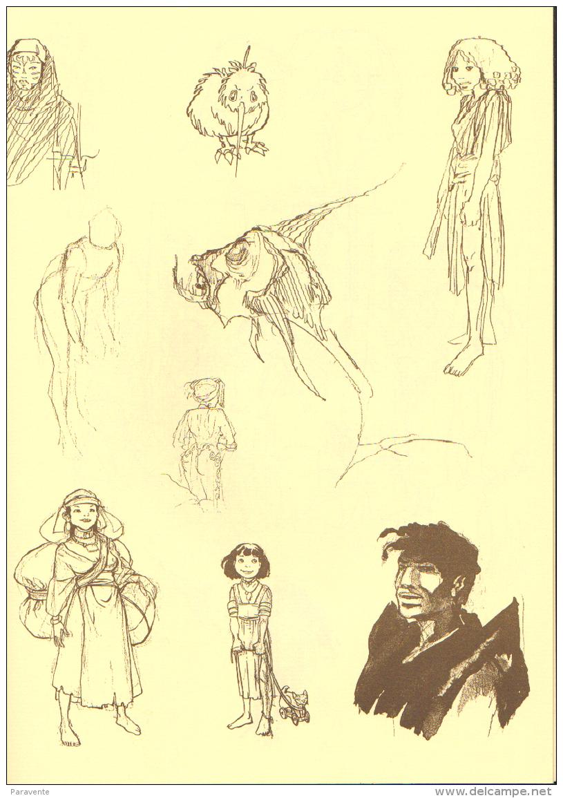 DETHAN Carnet De Croquis Librairie FANTOME ESPAGNOL (ns) - Livres, BD, Revues