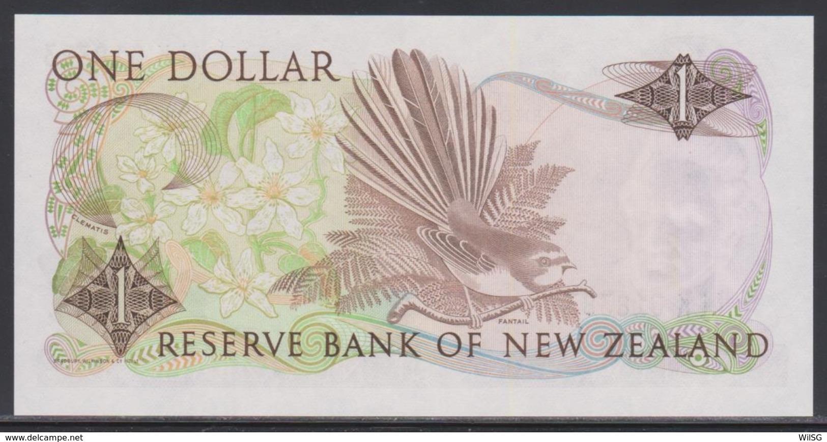 New Zealand 1 Dollar (ND 1985-1989) UNC - New Zealand