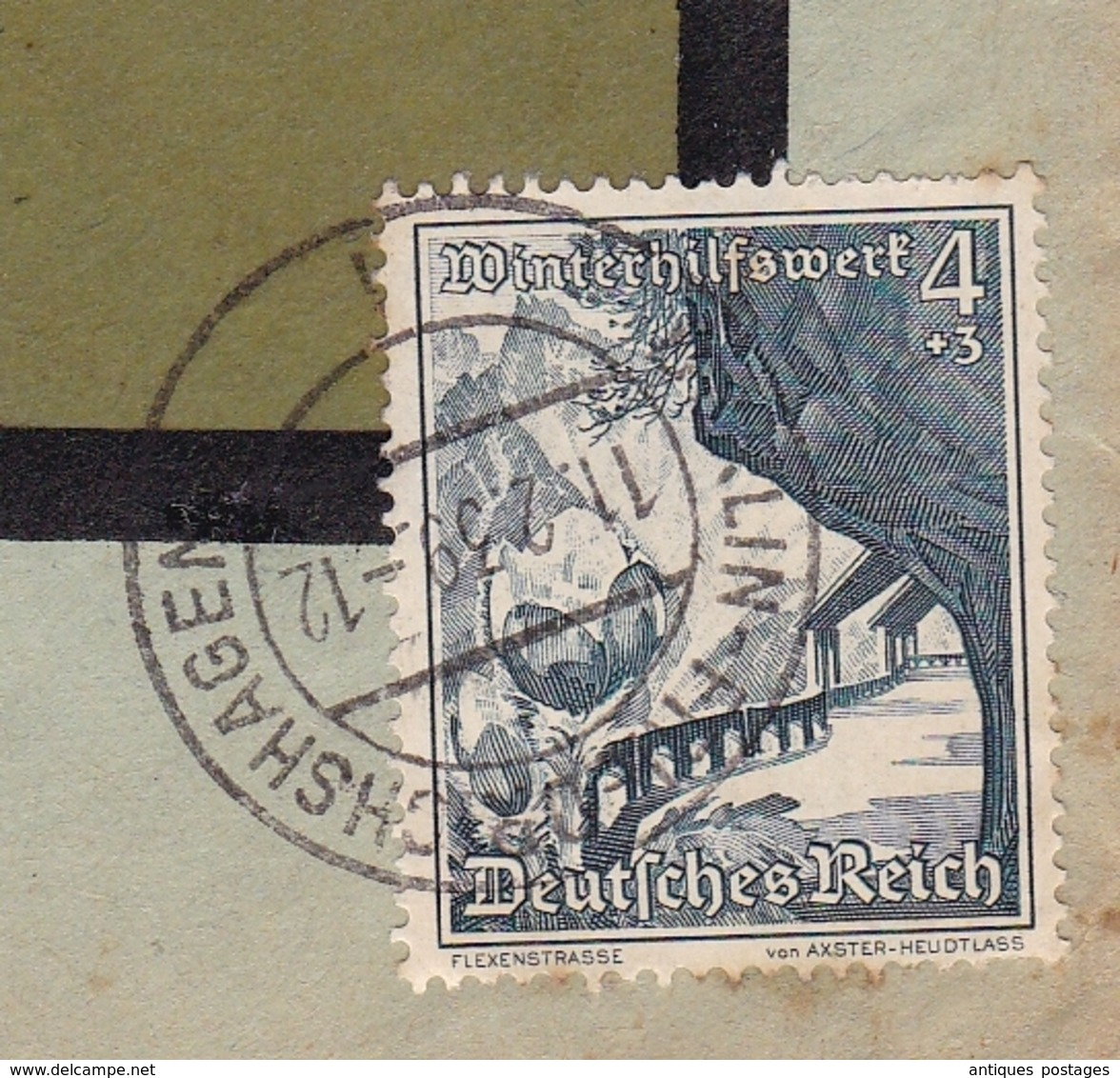Lettre 1939 Deutschland Luftpost Albert Hoffmann Berlin Friedrichshagen - Allemagne