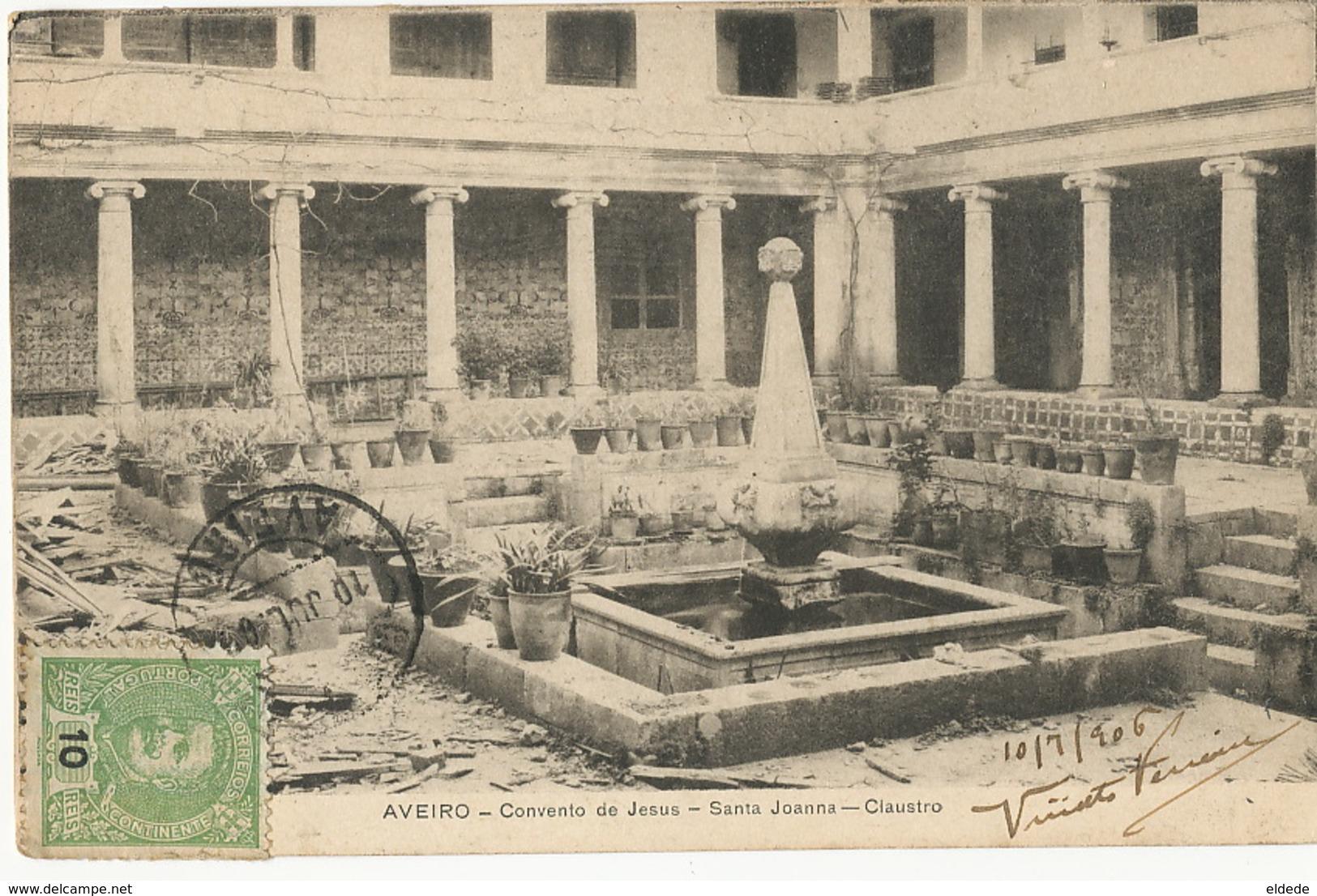 Aveiro Convento De Jesus Santa Joanna Claustro - Aveiro