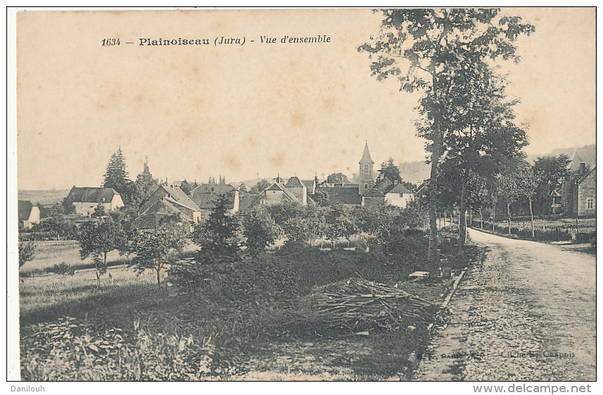 39 // PLAINOISEAU   Vue D'ensemble 1634 - France