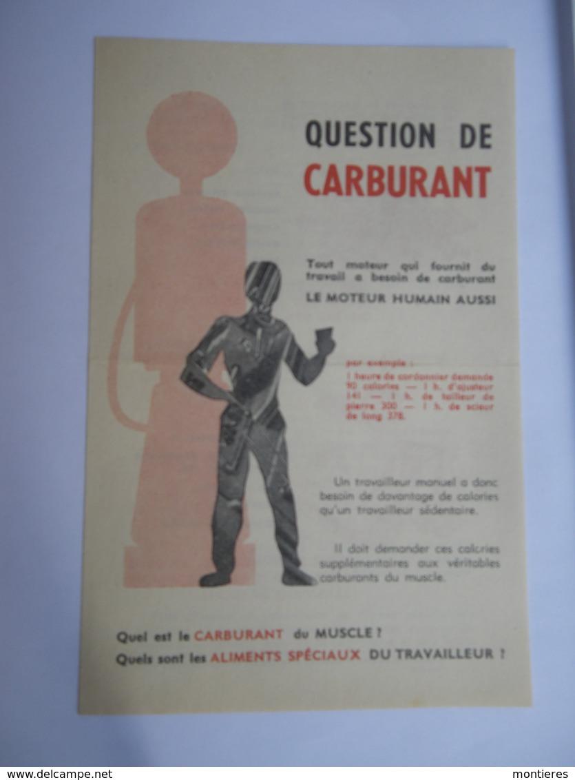 Tract Comité National De Défense Contre L' Alcoolisme - 1961 - Publicités