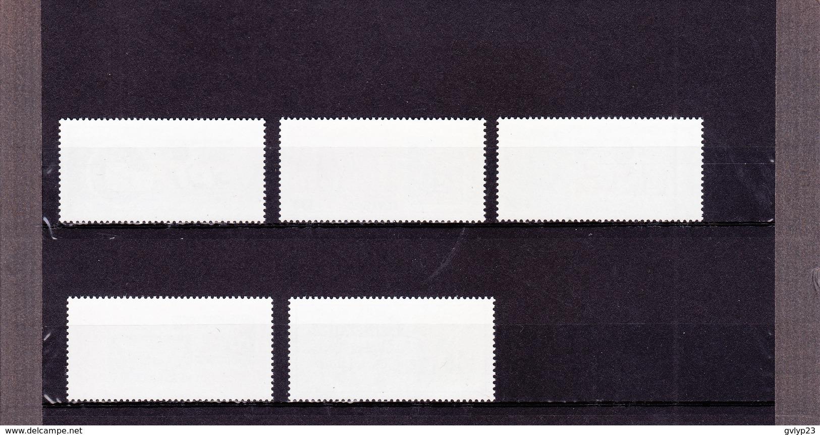 SENEGAL/CENTENAIRE DU TIMBRE-POSTE SENEGALAIS/ NEUF **/ 5 VALEURS /N°698/702 YVERT ET TELLIER 1987 - Postzegels Op Postzegels