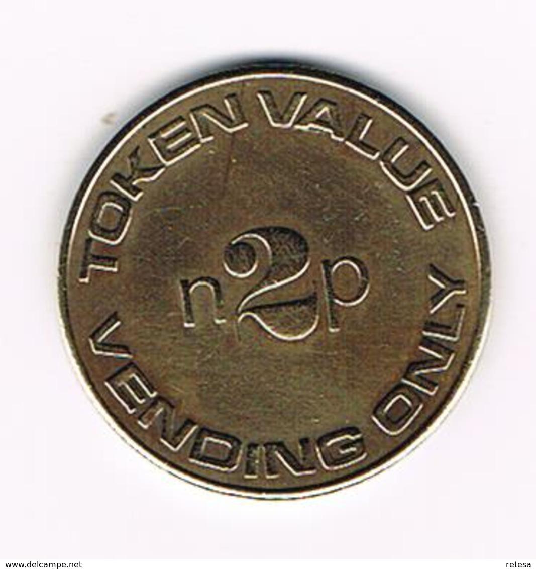 &   TOKEN  VALUE 2 NEW PENNY  VENDING ONLY - Professionnels/De Société