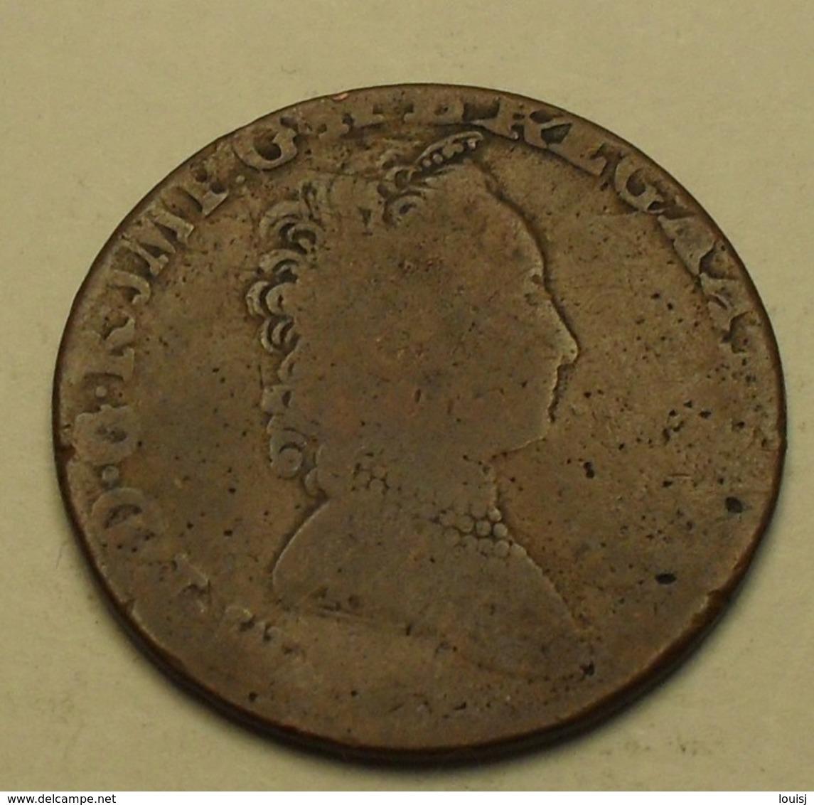 1751 - Belgique - Belgium - Pays-bas Autrichiens - DOUBLE LIARD, Marie-Thérèse, KM 3 - Belgique
