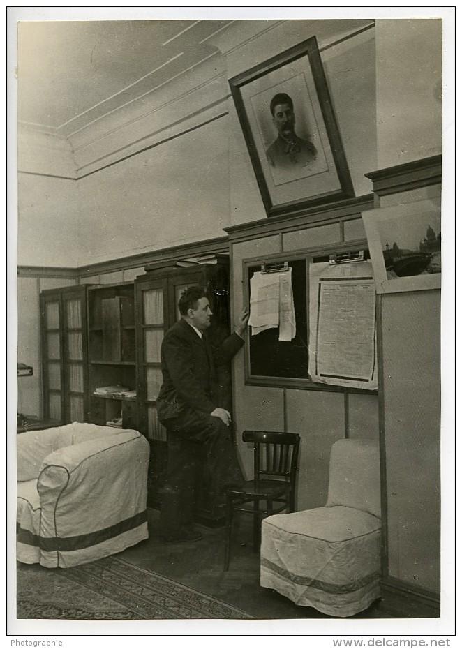 URSS Moscou L A Slepov Journaliste Du Journal La Pravda Ancienne Photo 1947 - Photographs