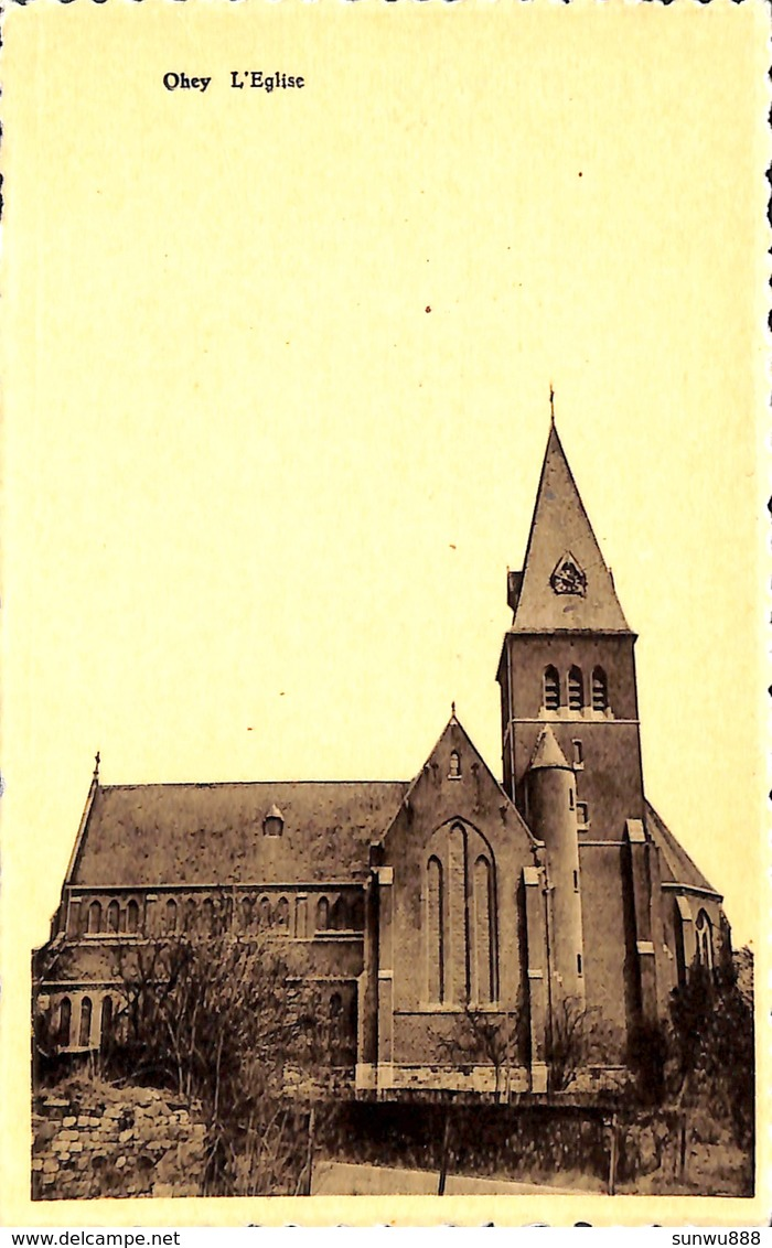 Ohey - L'Eglise (Multiphoto, Flawinne) - Ohey