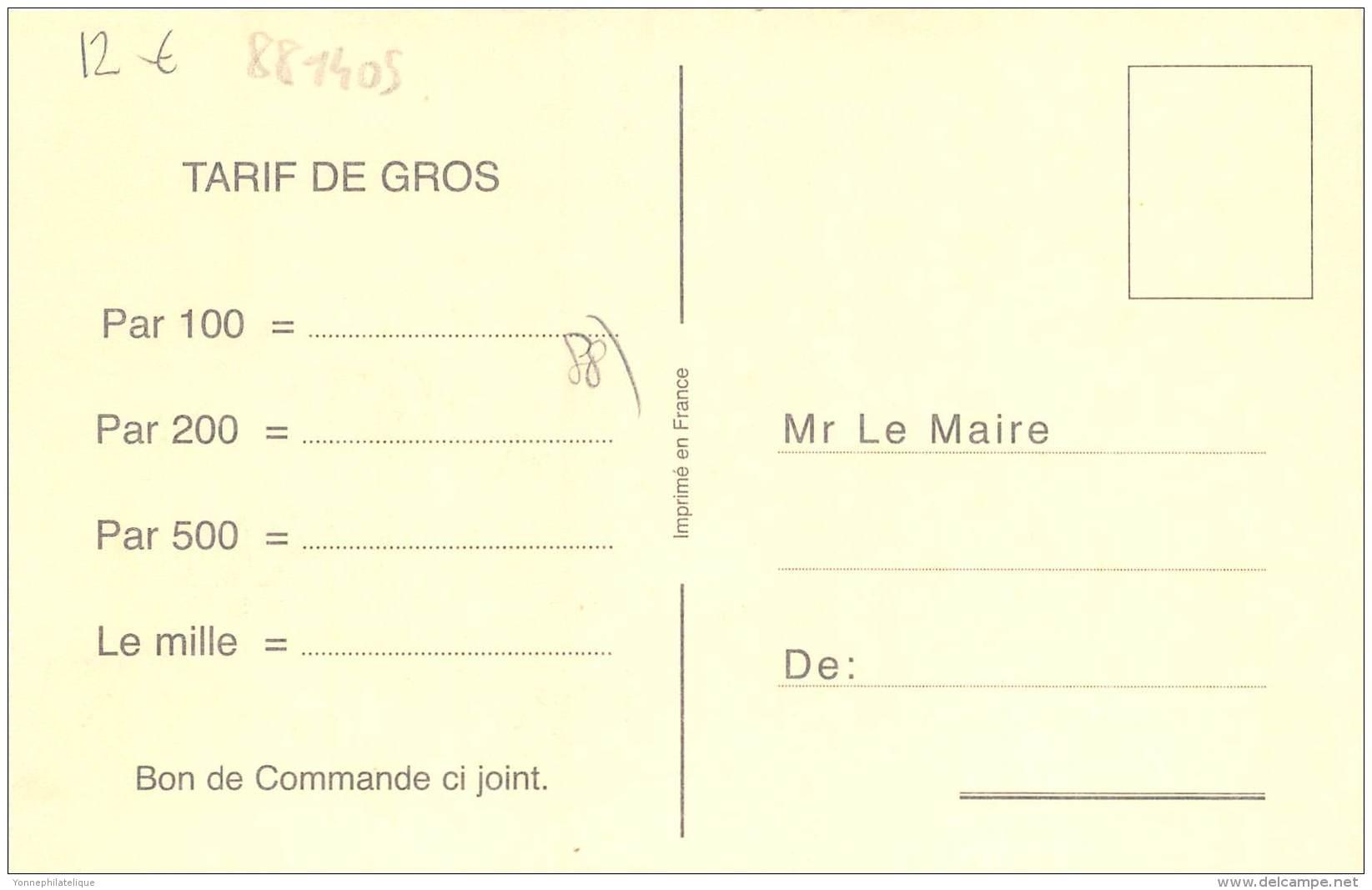 88 - VOSGES / Fantaisie Moderne - CPM - Format 9 X 14 Cm - 881405 - Lesseux - Autres Communes