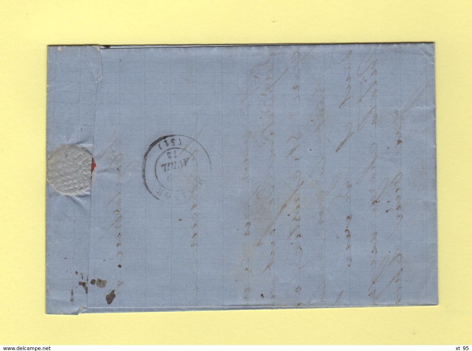 Convoyeur Station - Ligne 17A - Agen à Tarbes - Fleurance - 31 - Gers - Courrier De Montestruc - Postmark Collection (Covers)