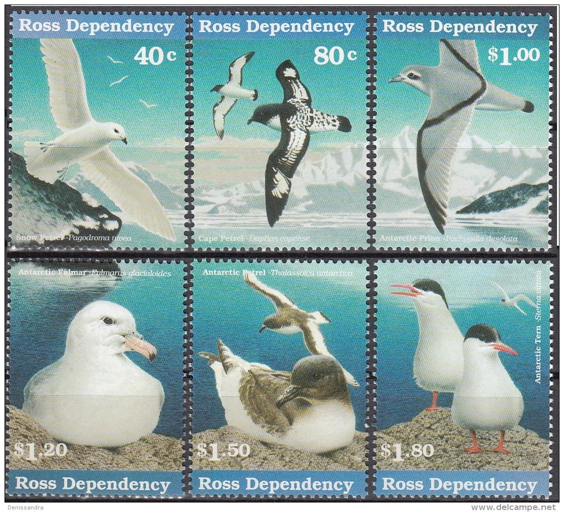 Ross Depency 1997 Michel 44 - 49 Neuf ** Cote (2005) 11.00 Euro Oiseaux De Mer - Ungebraucht
