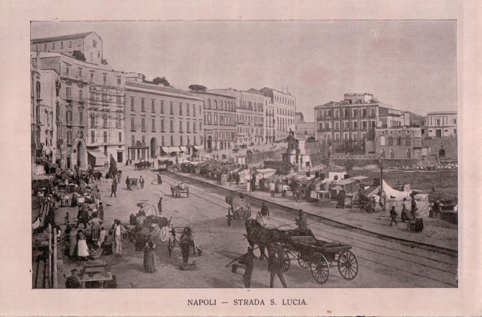 3370A   ITALIE NAPLES   DETAILS IMPRIMEE VERSO - Italia