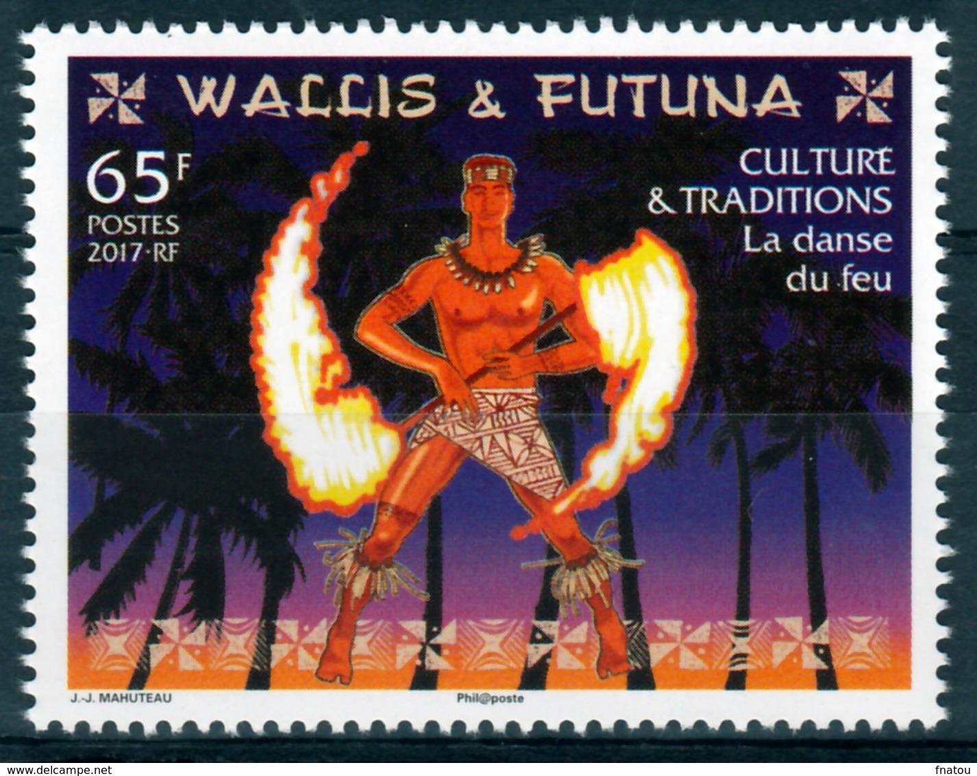 Wallis And Futuna, Fire Dance, 2017, MNH VF - Wallis And Futuna