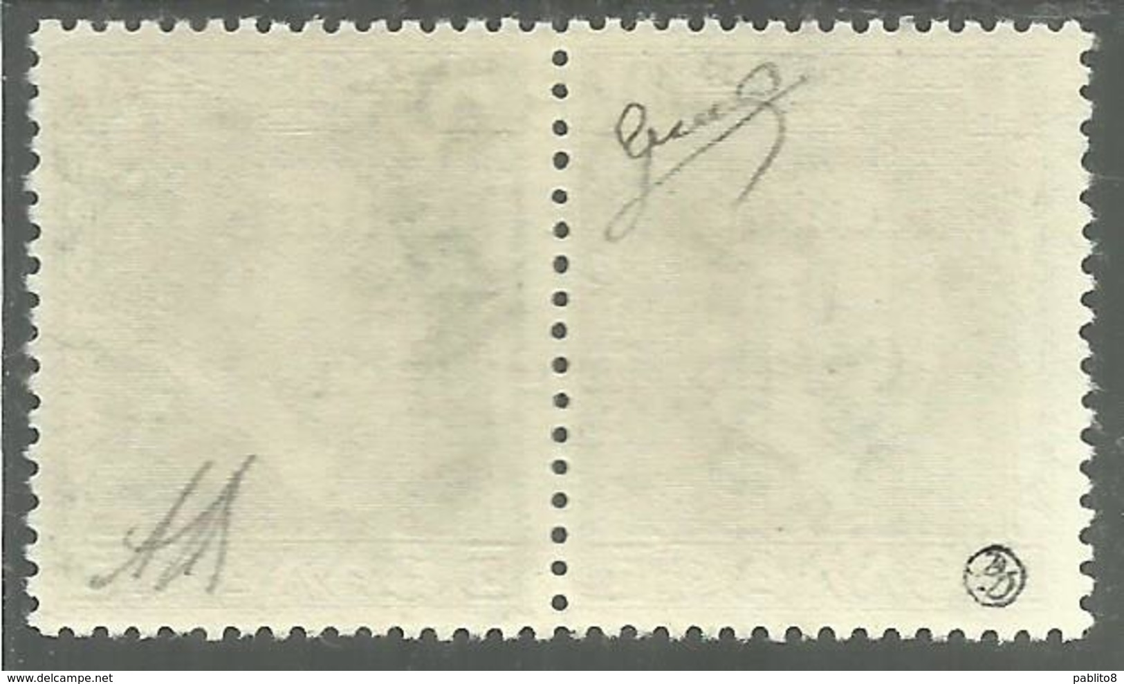 OCCUPAZIONE ITALIANA CEFALONIA E ITACA KEFALONIA ITHACA 1941 KING GEORGE II RE GIORGIO ARGOSTOLI 1 + 1 D MNH CERTIFICATO - 9. Occupazione 2a Guerra (Italia)