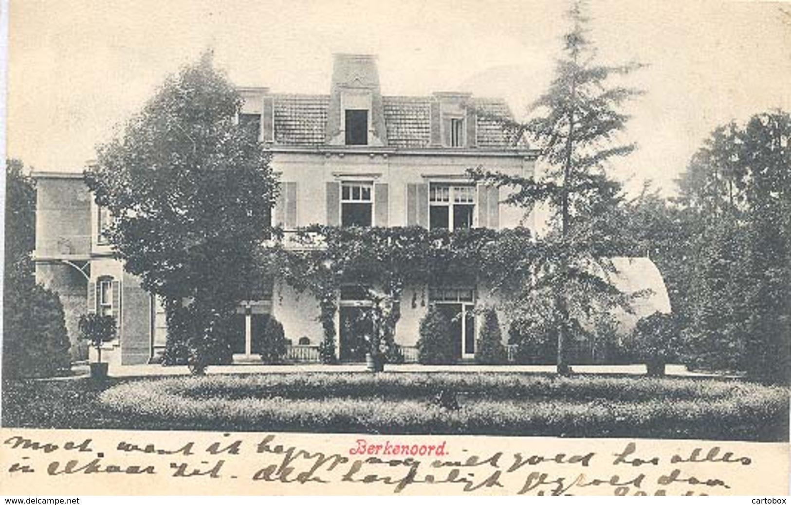 Nijmegen, Oude Graafse Weg, Villa Berkenoord  (anno 1907) - Nijmegen