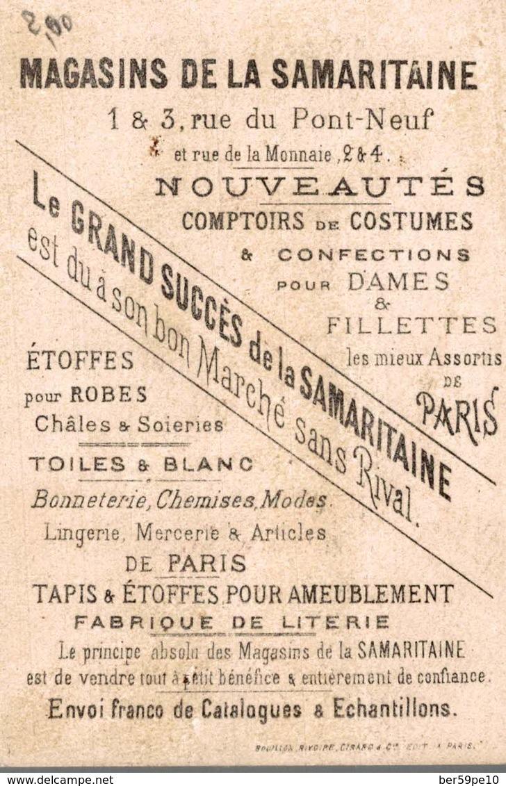 CHROMO  A LA SAMARITAINE NOUVEAUTES PARIS VENEZ EN AIDE A CEUX QUI SOUFFRENT - Autres