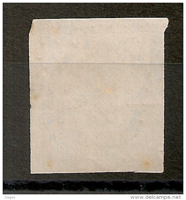 PC 277 BASTIA Corse Sur 25c Première Emission. - 1849-1850 Ceres
