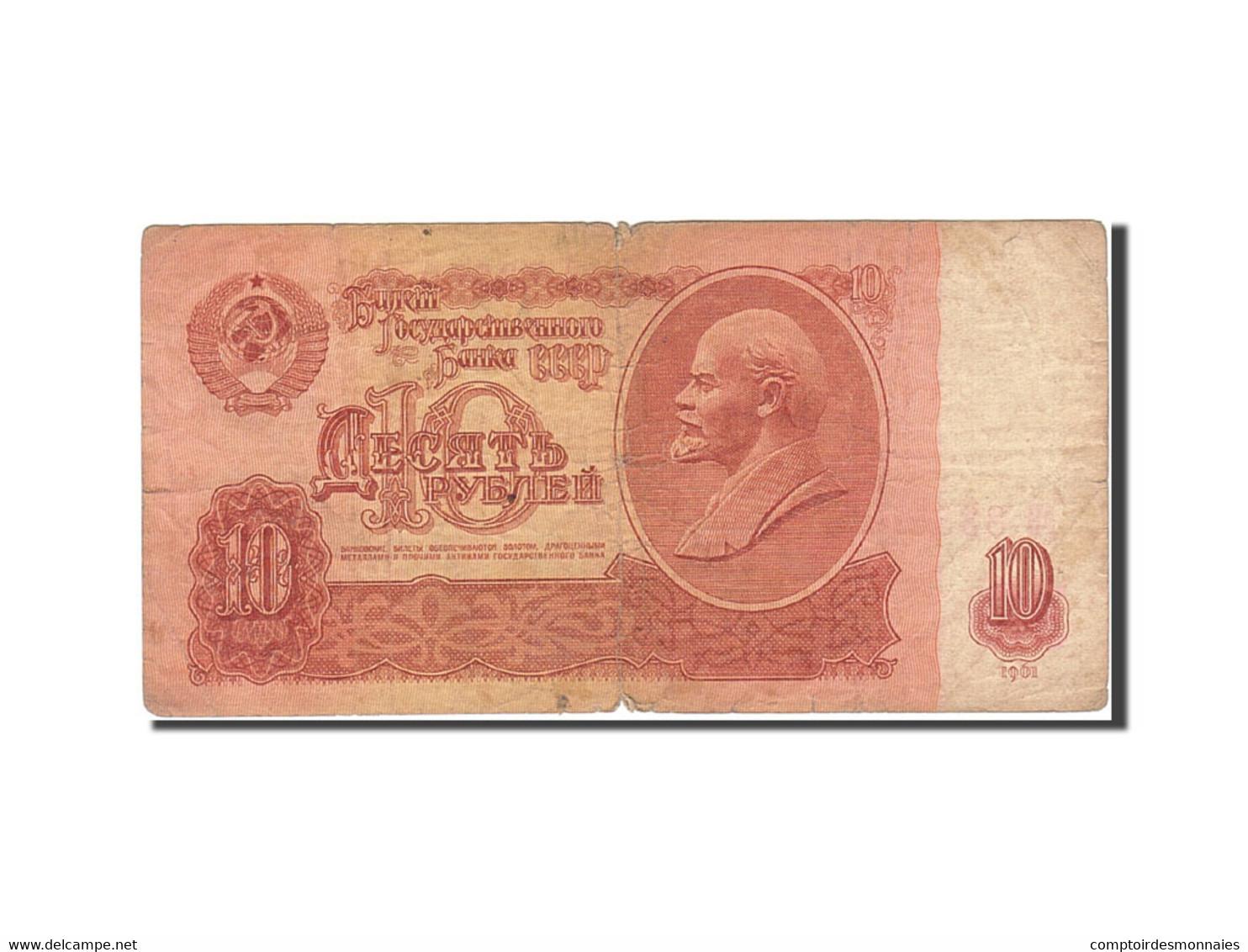 Billet, Russie, 10 Rubles, 1961, 1961, KM:233a, B - Russie