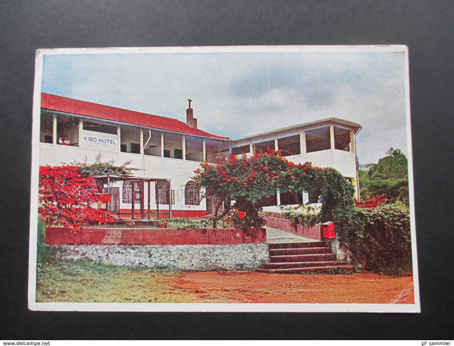 AK 1960 Kibo Hotel Kilimanjaro Marangu Moshi. Kenya Uganda Tanganyika. East Africa - Hotels & Gaststätten