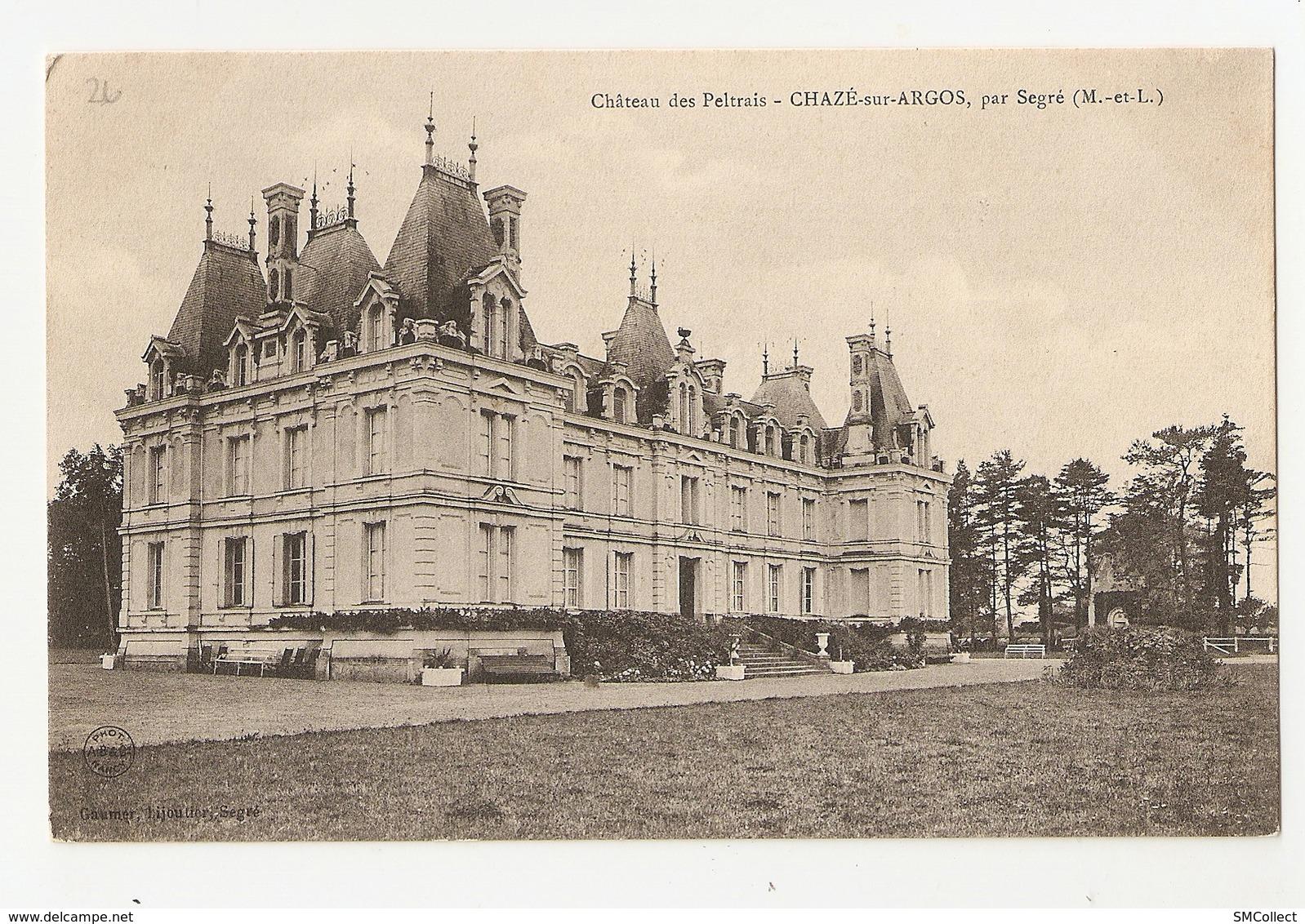 49 Chazé Sur Argos, Chateau Des Peltrais (2203) - Autres Communes